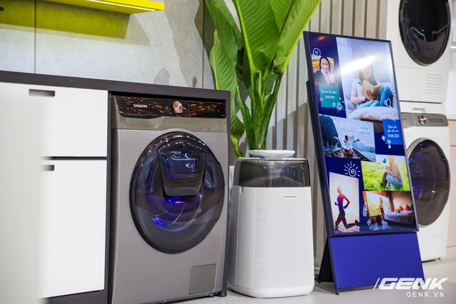 Dạo quanh sự kiện Tuyệt Tác Công Nghệ 2021: Samsung tung hàng loạt hàng khủng gia dụng, từ TV MICRO LED cho đến máy giặt AI - Ảnh 22.