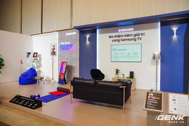 Dạo quanh sự kiện Tuyệt Tác Công Nghệ 2021: Samsung tung hàng loạt hàng khủng gia dụng, từ TV MICRO LED cho đến máy giặt AI - Ảnh 2.