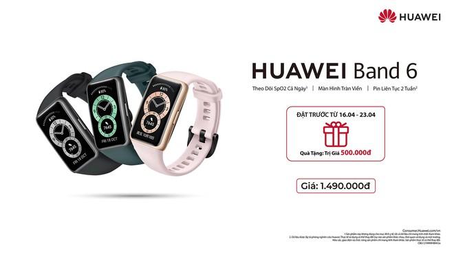 Huawei Band 6 ra mắt tại VN: Màn hình AMOLED kích thước lớn, tích hợp cảm biến đo SpO2, pin 14 ngày, giá 1.49 triệu đồng - Ảnh 6.
