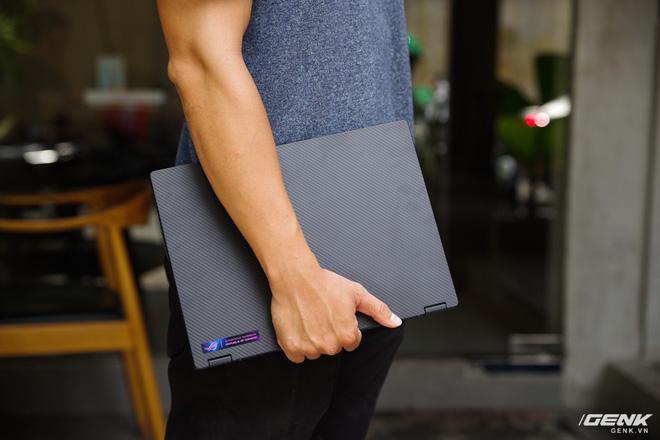 3 ngày dùng thử ASUS ROG Flow X13: Laptop chơi game giờ nhỏ gọn quá, không quen! - Ảnh 13.
