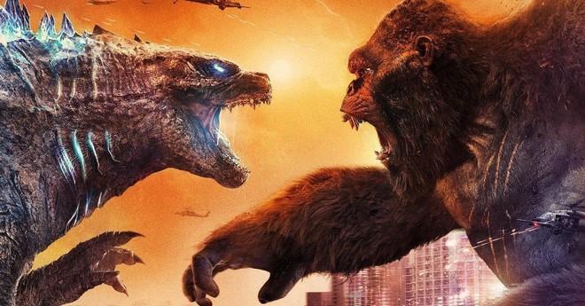 Có gì hay trong quá trình quay Godzilla vs. Kong: Vua quái vật hung bạo trên màn bạc hóa ra chỉ là 1 quả bóng tennis trên phim trường - Ảnh 1.