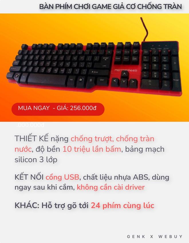 """4 bàn phím chống tràn dành cho """"team hậu đậu"""": Giá chỉ từ 110K, nhiều loại kết nối không dây cực tiện - Ảnh 2."""