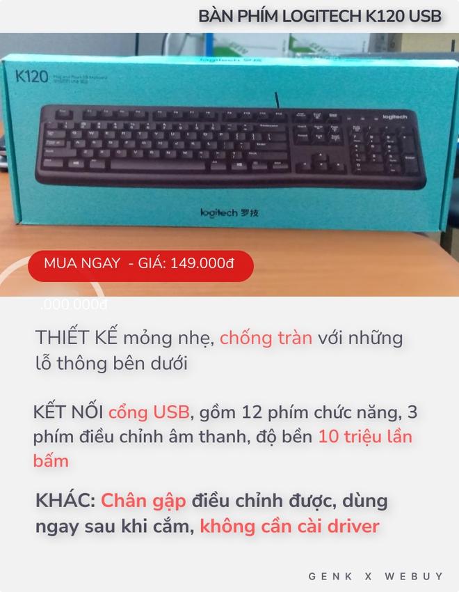 """4 bàn phím chống tràn dành cho """"team hậu đậu"""": Giá chỉ từ 110K, nhiều loại kết nối không dây cực tiện - Ảnh 3."""