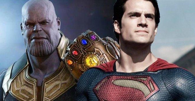Thử lên kèo Thanos v Superman xem ai sẽ là kẻ chiến thắng - Ảnh 1.