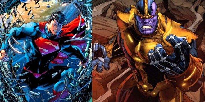 Thử lên kèo Thanos v Superman xem ai sẽ là kẻ chiến thắng - Ảnh 3.
