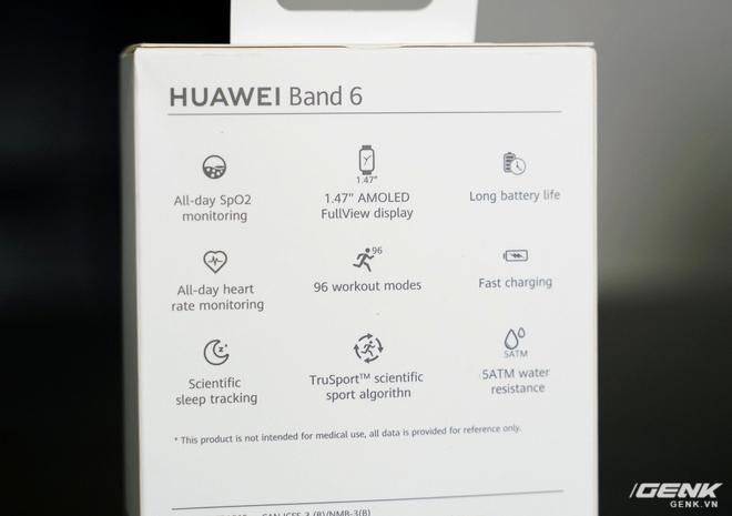 Trên tay Huawei Band 6: Smartband giá 1,5 triệu nhưng được cái màn hình lớn, nhiều tính năng xịn - Ảnh 4.