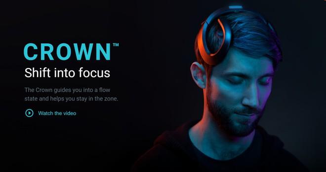 Thiết bị đeo đặc biệt này có thể giúp tăng hiệu suất công việc cho bạn nhờ phân tích não bộ và tăng khả năng tập trung - Ảnh 1.