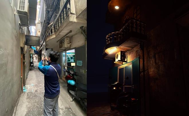 Dự án game kinh dị Thần Trùng tái hiện chân thực một con ngõ nhỏ trên phố Trần Duy Hưng - Ảnh 2.