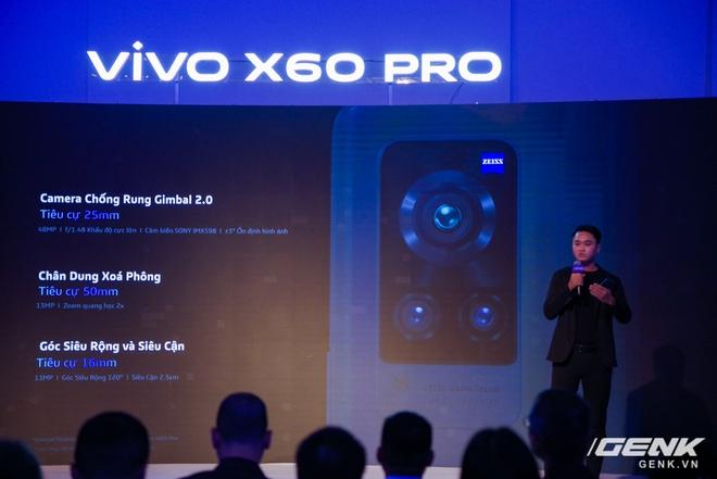 Vivo X60 Pro chính thức ra mắt tại Việt Nam: Ống kính kết hợp với Zeiss, chạy chip Snapdragon 870, hỗ trợ 5G giá 20 triệu đồng - Ảnh 2.