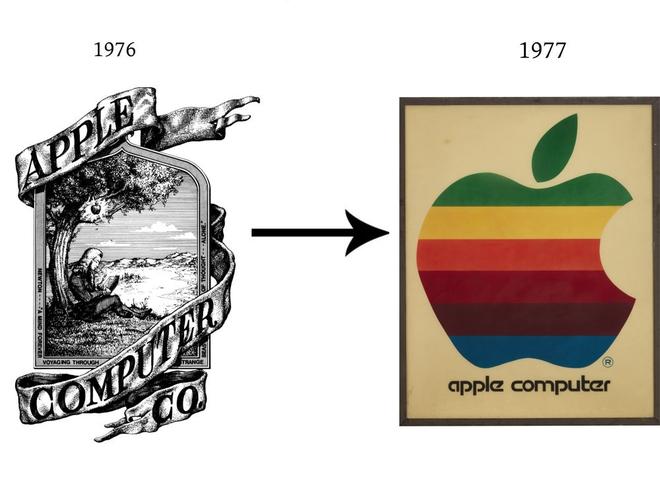 Những lần đổi logo hài hước của các hãng công nghệ - Ảnh 1.