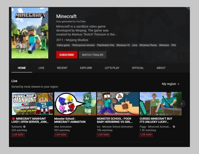 Cảnh giác với những video về Minecraft con bạn đang xem trên YouTube: Chúng bẩn thỉu, chứa đầy máu me và bạo lực - Ảnh 2.