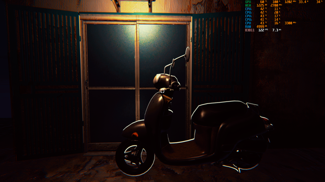 Dự án game kinh dị Thần Trùng tái hiện chân thực một con ngõ nhỏ trên phố Trần Duy Hưng - Ảnh 5.