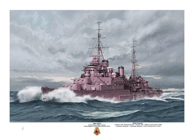 Tại sao lại có xe tăng, tàu chiến, thậm chí cả quân phục mang màu hồng? - Ảnh 7.