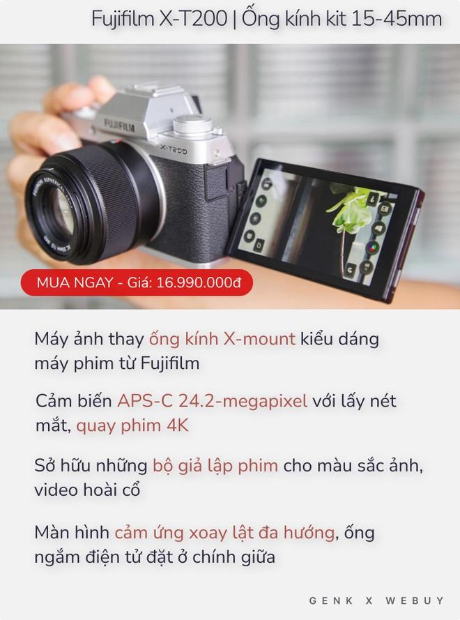 Từ 8.5 triệu, có ngay 5 combo máy ảnh căng đét cho người chơi hệ ví mỏng - Ảnh 5.