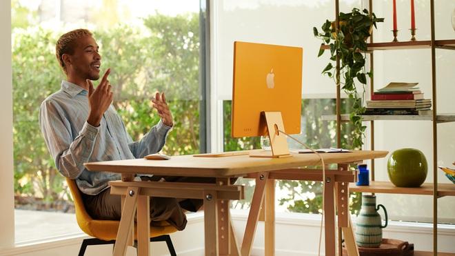 Apple ra mắt iMac 2021: Thiết kế mới, nhiều tuỳ chọn màu sắc, dùng chip M1, hỗ trợ Touch ID, giá từ 1299 USD - Ảnh 1.
