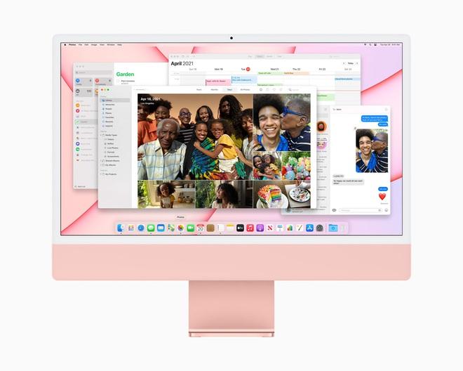 Apple ra mắt iMac 2021: Thiết kế mới, nhiều tuỳ chọn màu sắc, dùng chip M1, hỗ trợ Touch ID, giá từ 1299 USD - Ảnh 3.