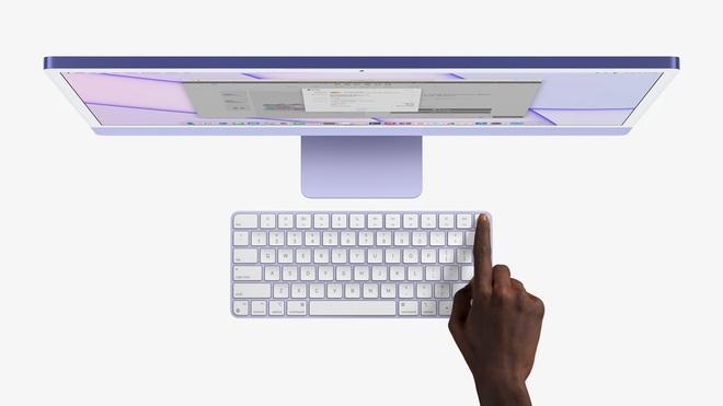 Apple ra mắt iMac 2021: Thiết kế mới, nhiều tuỳ chọn màu sắc, dùng chip M1, hỗ trợ Touch ID, giá từ 1299 USD - Ảnh 7.
