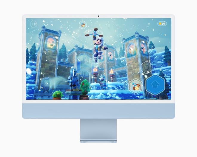 Apple ra mắt iMac 2021: Thiết kế mới, nhiều tuỳ chọn màu sắc, dùng chip M1,  hỗ trợ Touch ID, giá từ 1299 USD