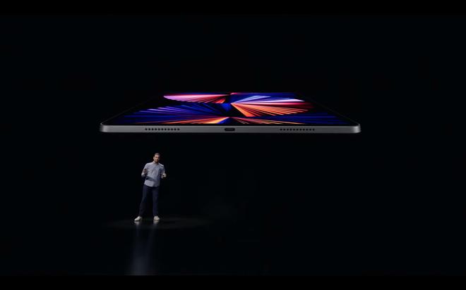 iPad Pro 2021 ra mắt: Màn hình Mini LED, chip M1, RAM 16GB, bộ nhớ trong 2TB, 5G, cổng Thunderbolt - Ảnh 7.
