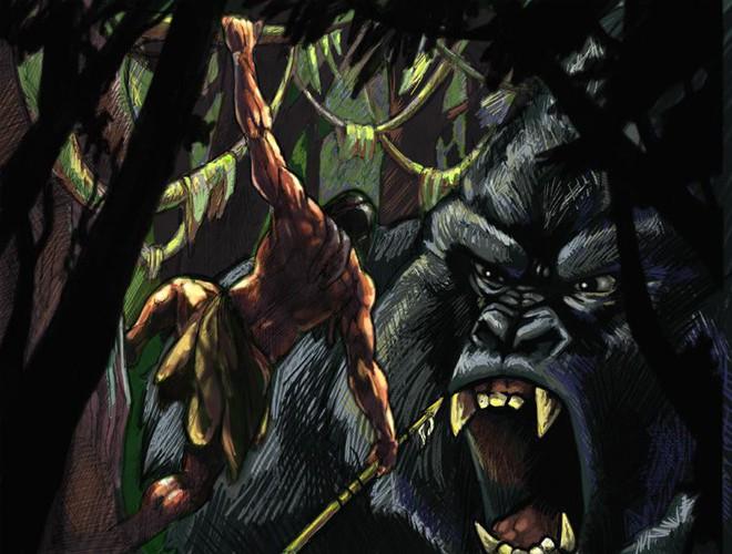 Giả thuyết cực thuyết phục cho thấy King Kong có mối liên hệ mật thiết với Tarzan - Ảnh 1.