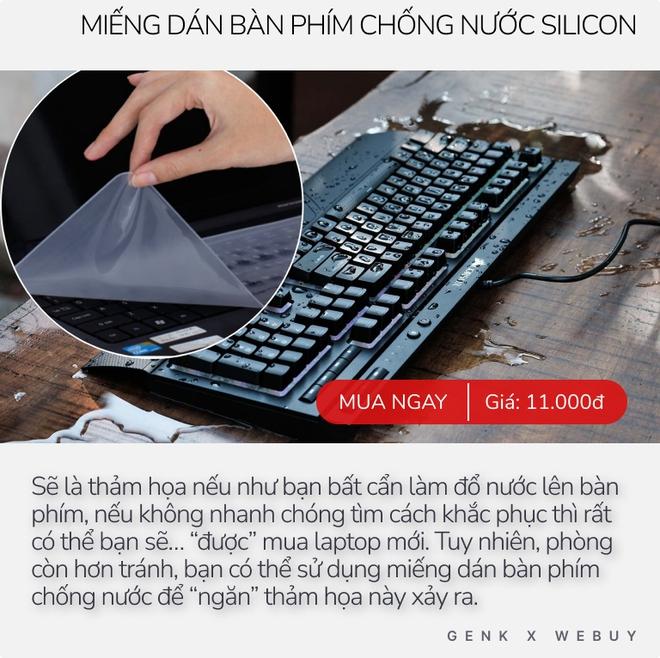 """Miếng dán bàn phím chống nước 11K dùng có ra gì? Chống nước tốt, gõ phím dễ dàng nhưng dùng vài ngày sẽ hơi """"nản"""" vì 1 lý do - Ảnh 3."""