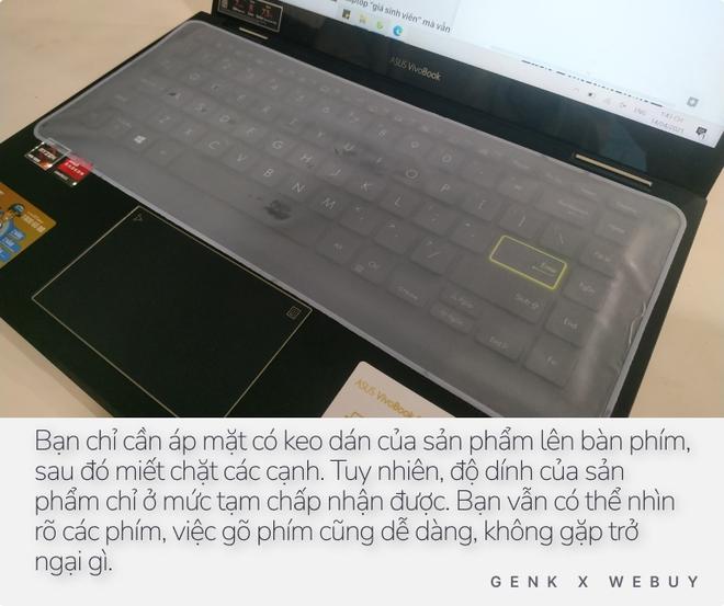 """Miếng dán bàn phím chống nước 11K dùng có ra gì? Chống nước tốt, gõ phím dễ dàng nhưng dùng vài ngày sẽ hơi """"nản"""" vì 1 lý do - Ảnh 7."""
