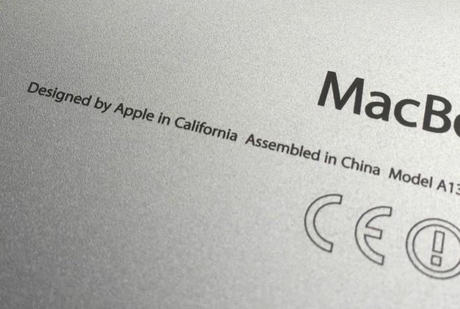 """Nhiều sản phẩm Apple sẽ bỏ dòng chữ """"lắp ráp tại Trung Quốc"""" - Ảnh 1."""