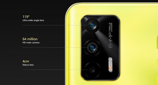 Realme Q3, Q3 Pro và Q3i ra mắt: Màn hình AMOLED 120Hz, camera 64MP, chip Dimensity 1100, giá từ 3.9 triệu đồng - Ảnh 4.