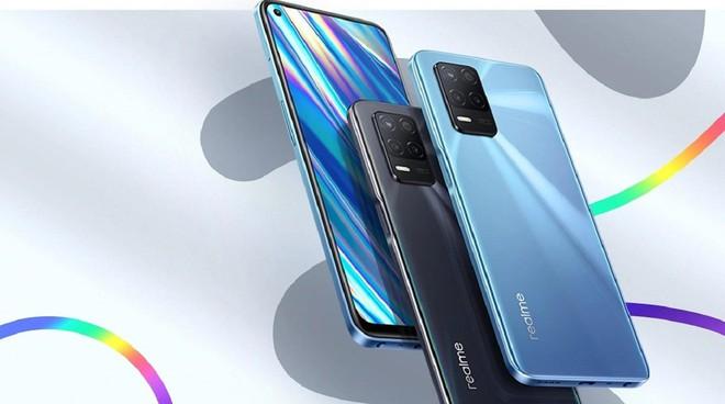 Realme Q3, Q3 Pro và Q3i ra mắt: Màn hình AMOLED 120Hz, camera 64MP, chip Dimensity 1100, giá từ 3.9 triệu đồng - Ảnh 1.