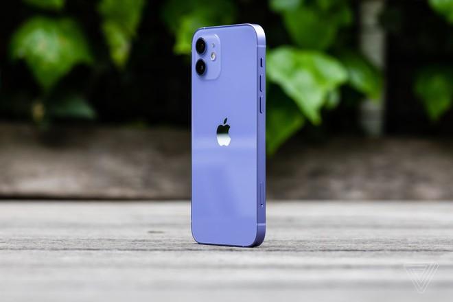 Cận cảnh iPhone 12 màu tím mộng mơ - Ảnh 3.