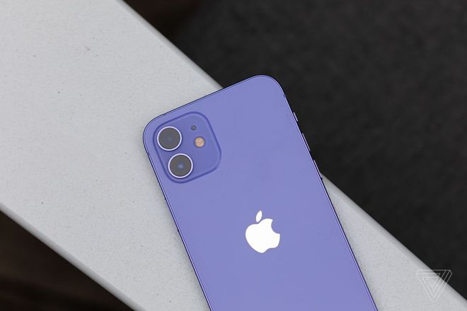 Cận cảnh iPhone 12 màu tím mộng mơ - Ảnh 4.
