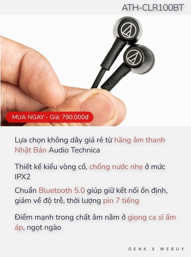 Nhạc gì cũng nhảy với 5 lựa chọn tai nghe đáng mua dưới 1 triệu Đồng - Ảnh 3.