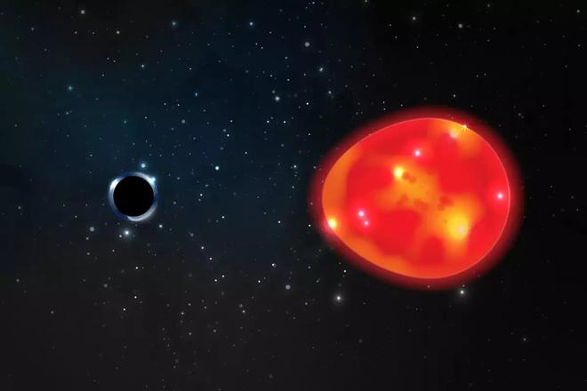 Phát hiện ra hố đen nhỏ nhất và gần Trái Đất nhất, xô đổ hai kỷ lục một lúc - Ảnh 1.