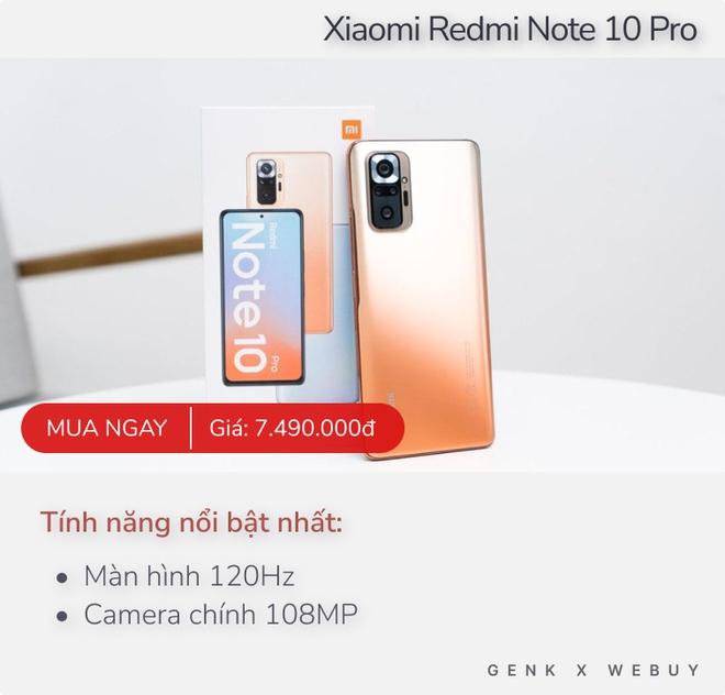 Có 7 triệu, mua điện thoại nào để được dùng 5G, màn 120Hz, máy ảnh 108MP hay camera selfie ẩn? - Ảnh 5.