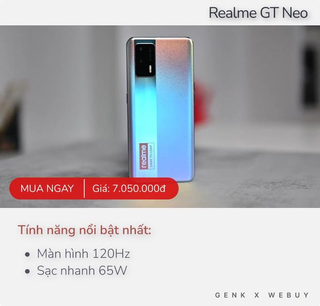 Có 7 triệu, mua điện thoại nào để được dùng 5G, màn 120Hz, máy ảnh 108MP hay camera selfie ẩn? - Ảnh 3.