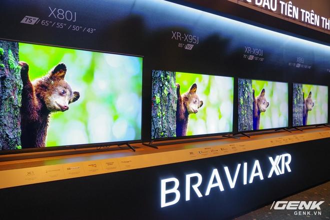 Sony trình làng thế hệ TV BRAVIA XR được mệnh danh TV trí tuệ nhận thức đầu tiên trên thế giới - Ảnh 6.