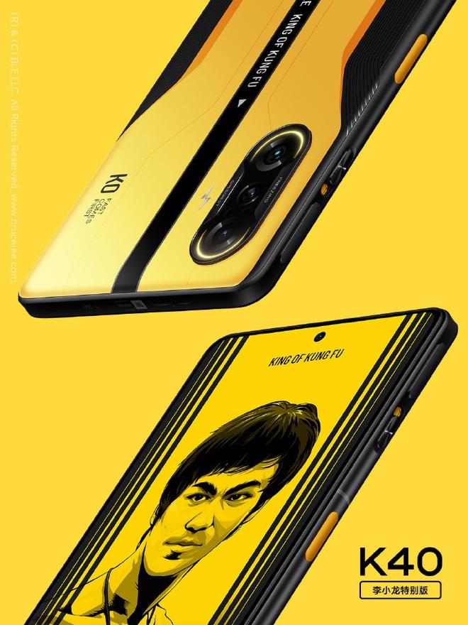 Redmi K40 Gaming Edition có thêm phiên bản Lý Tiểu Long đặc biệt, giá 9.9 triệu đồng - Ảnh 2.
