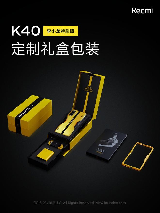 Redmi K40 Gaming Edition có thêm phiên bản Lý Tiểu Long đặc biệt, giá 9.9 triệu đồng - Ảnh 3.