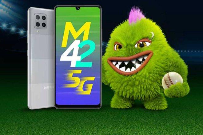 Galaxy M42 5G ra mắt: Phiên bản đổi tên của A42 5G, Snapdragon 750G, pin 5000mAh, giá 6.8 triệu đồng - Ảnh 2.