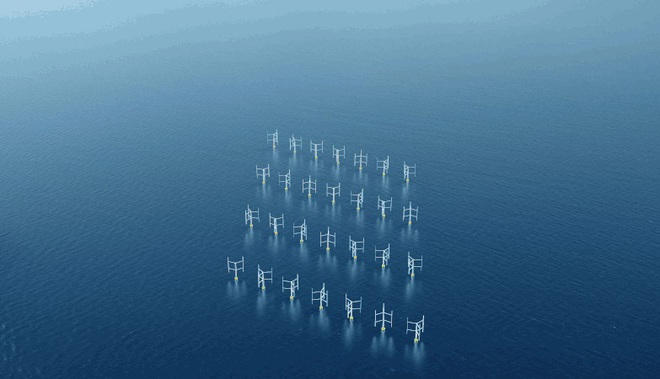 Tuabin gió dạng trục đứng sẽ thay thế chong chóng mà bạn vẫn biết, với hiệu năng sản xuất điện gió tăng tới 15% - Ảnh 2.