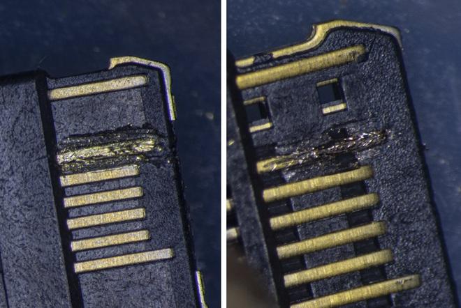So sánh đầu nối USB-C loại 1 nghìn đồng và 5 nghìn đồng dưới kính hiển vi: đắt hơn gấp 5 nhưng chất lượng có hơn tương xứng? - Ảnh 13.