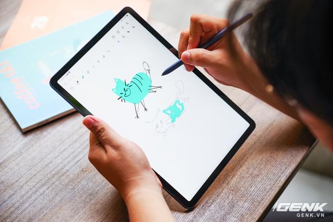 Al alcance de su mano Galaxy Tab S7 versión Navy: diseño lujoso, hermoso color, configuración terrible, precio constante - Foto 11.
