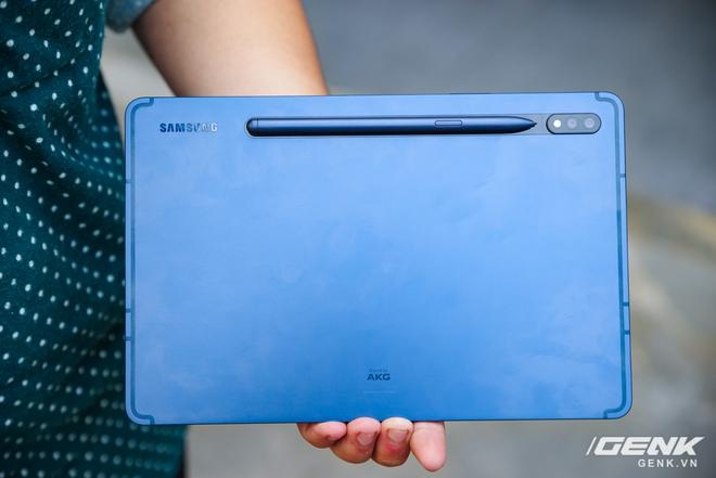 Disponible en la versión Galaxy Tab S7 Navy: diseño lujoso, hermoso color, excelente configuración, precio constante - Foto 5.