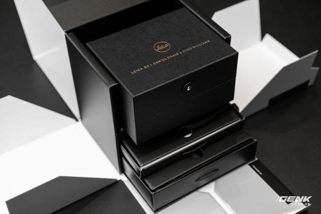 Đập hộp Leica Q2 phiên bản đặc biệt Daniel Craig x Greg Williams: Giá sương sương 183 triệu đồng, giới hạn 750 chiếc - Ảnh 2.