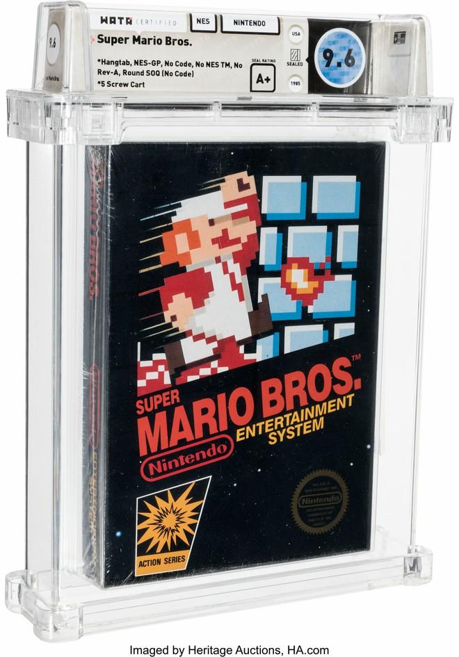 Một hộp game Mario phiên bản cực hiếm vừa được bán đấu giá thành công với số tiền 15 tỷ VNĐ - Ảnh 1.