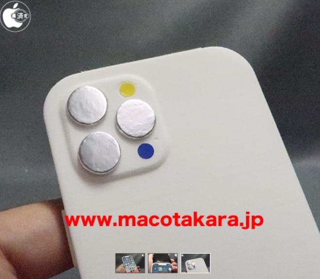 Mô hình iPhone 13 Pro lộ diện với rãnh tai thỏ nhỏ hơn, vị trí loa thoại và camera selfie thay đổi - Ảnh 2.