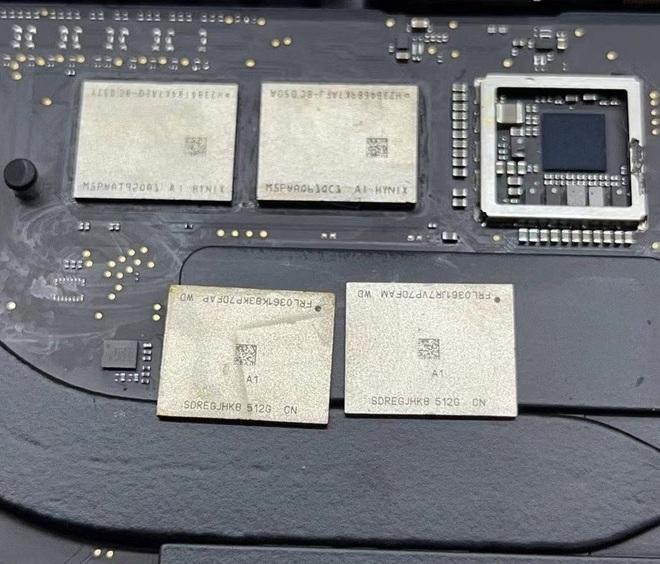 Không chịu để Apple hút máu, kỹ sư Trung Quốc tự tay nâng cấp RAM và SSD cho MacBook dùng chip M1 - Ảnh 5.
