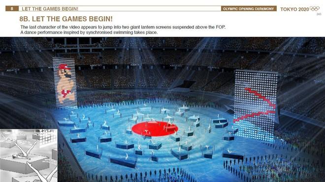 Lộ tài liệu cho thấy màn khai mạc Thế vận hội Olympics Tokyo có sự xuất hiện của cả nhân vật Akira và Mario - Ảnh 4.