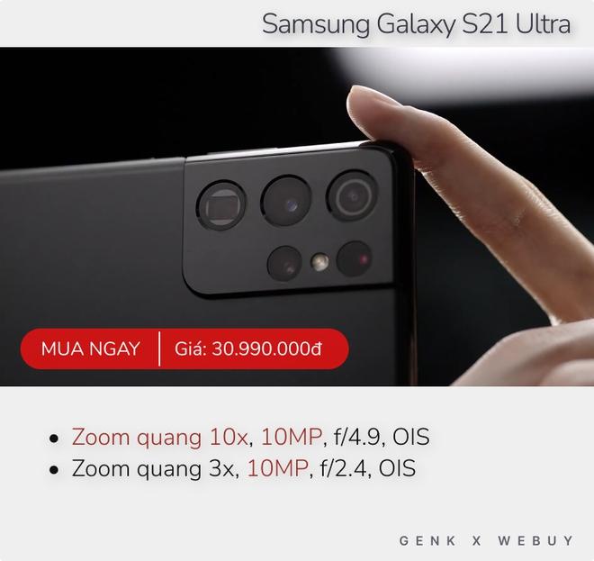 Gợi ý 5 smartphone zoom quang thật trân tới 10x để khoảng cách không còn là rào cản - Ảnh 2.