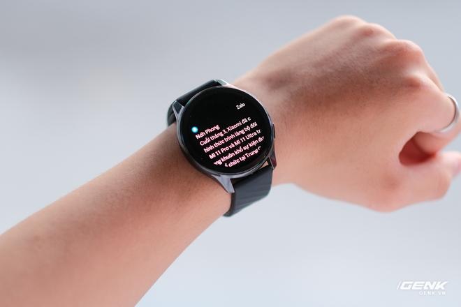 Trên tay và trải nghiệm nhanh OnePlus Watch: Thiết kế phổ thông, không dành cho người dùng nữ, có đo SpO2, pin 2 tuần, giá 4.2 triệu - Ảnh 16.